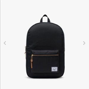 Herschel black settlement mid volume backpack